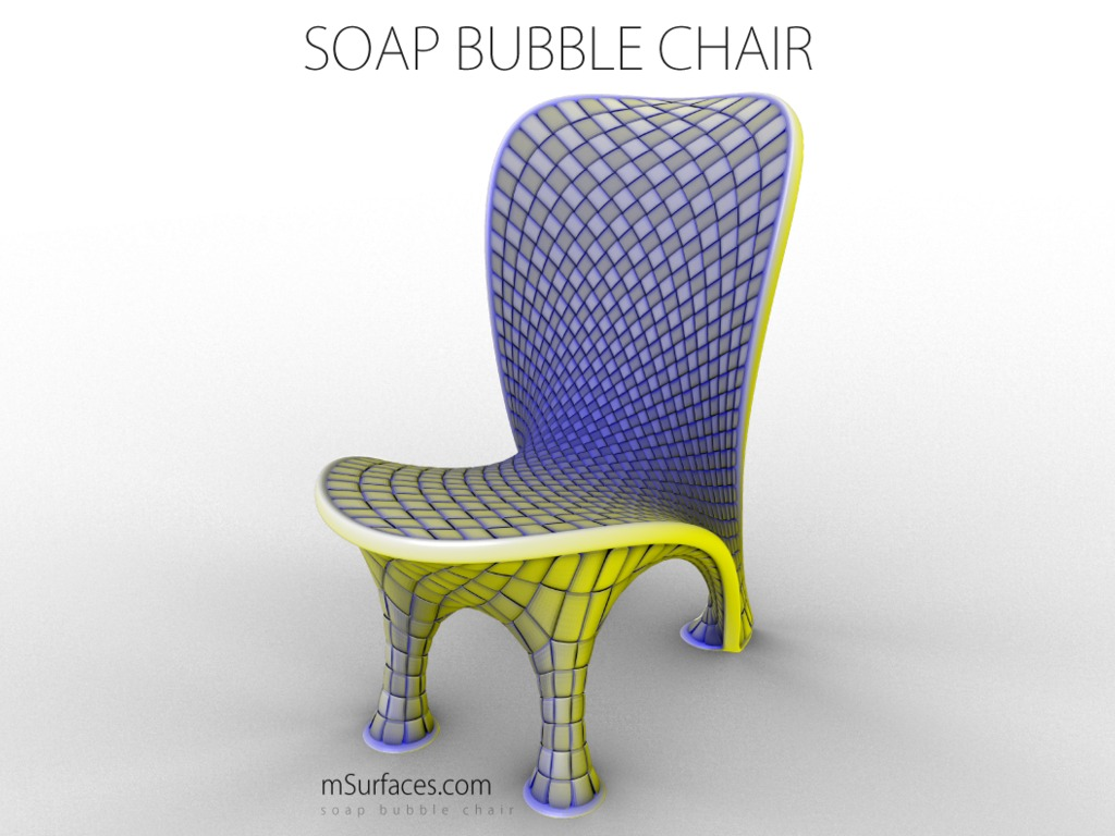 Soap Bubble Chair's video poster