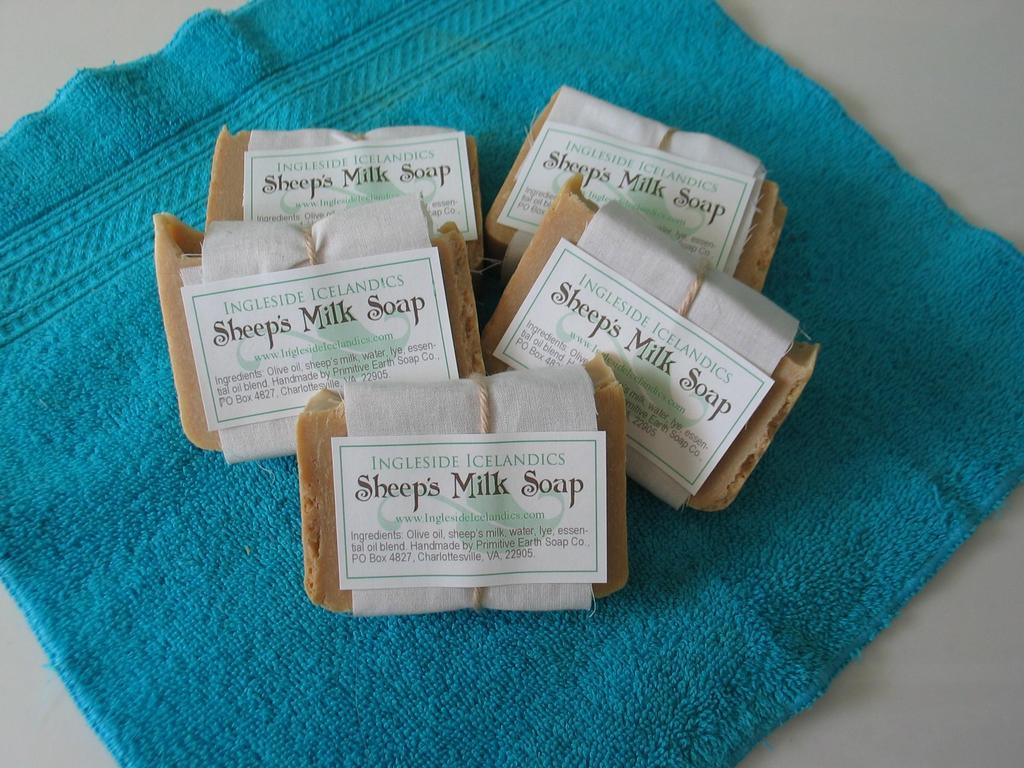 Sheep's Milk Soap:  Straight from the Farm's video poster