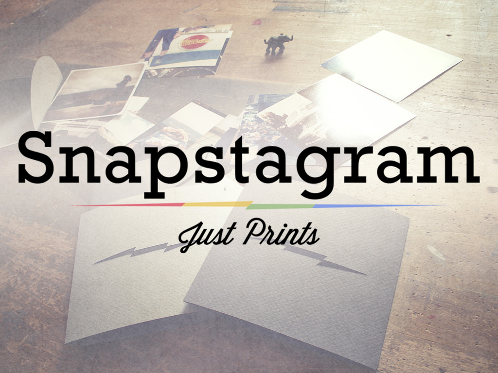 Snapstagram - Just Prints's video poster