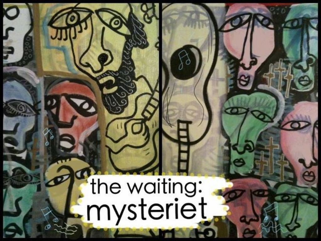 Be a part of the new record by The Waiting!! Mysteriet's video poster