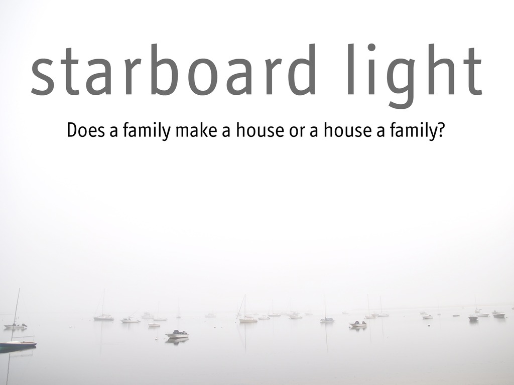 Starboard Light's video poster