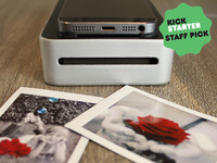 SnapJet: Turn your smartphone into a polaroid film printer!