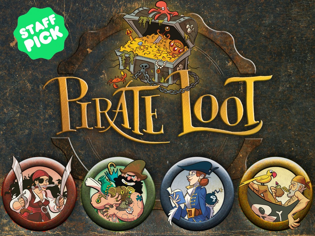 Pirate Loot, A Card Game of Treasure and Treachery's video poster