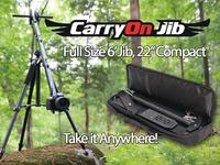 CarryOn Jib - The Most Compact, yet Full-Sized Camera Crane