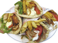 souvlaki party in Nea Makri