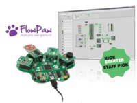 FlowPaw : Learn computer coding by building your own gizmos