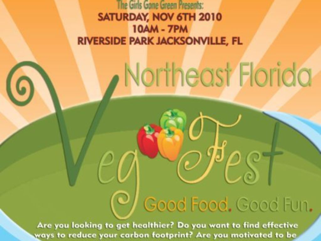 Northeast Florida Vegetarian Festival's video poster
