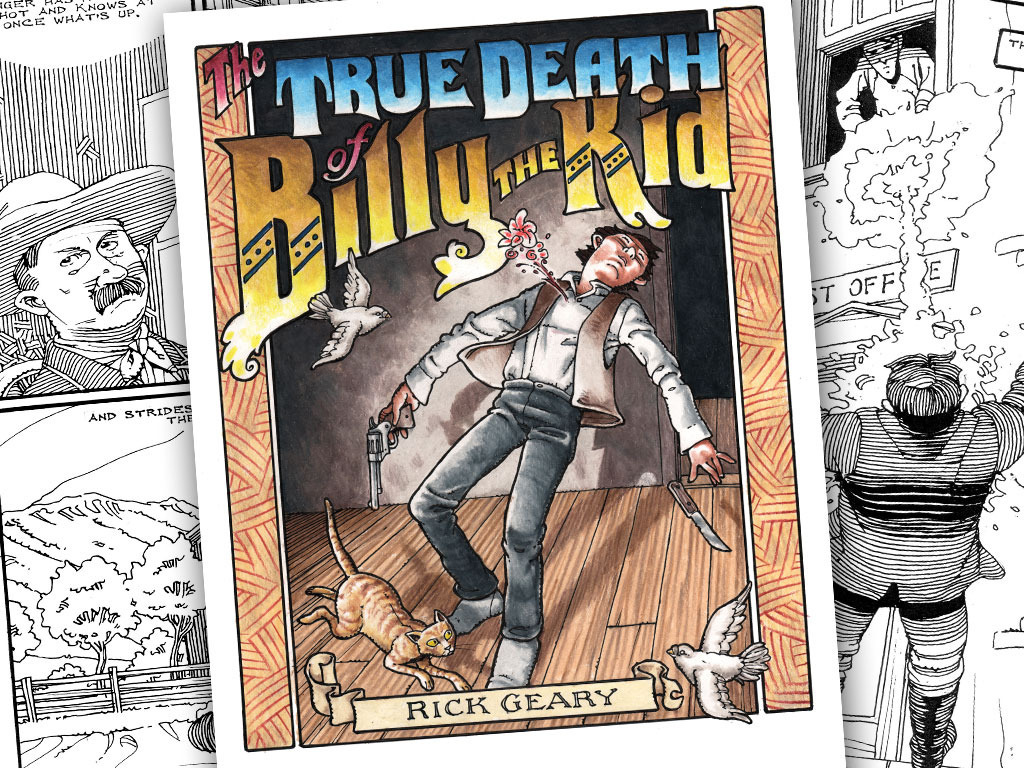 The True Death of Billy the Kid by Rick Geary's video poster