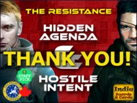 The Resistance - Hostile Intent & Hidden Agenda