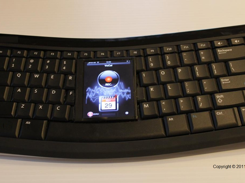 Wingz Hybrid-Keyboard with Android Apps's video poster