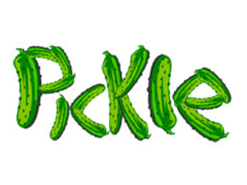 Pickle card game's video poster