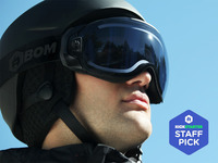 F-BOM: The first snow goggle with active anti-fog technology