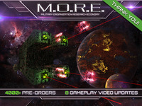 More of M.O.R.E. - 4x turn-based space sci-fi strategy.