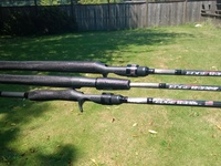 Edge First Strike Bass rods by Gary Loomis