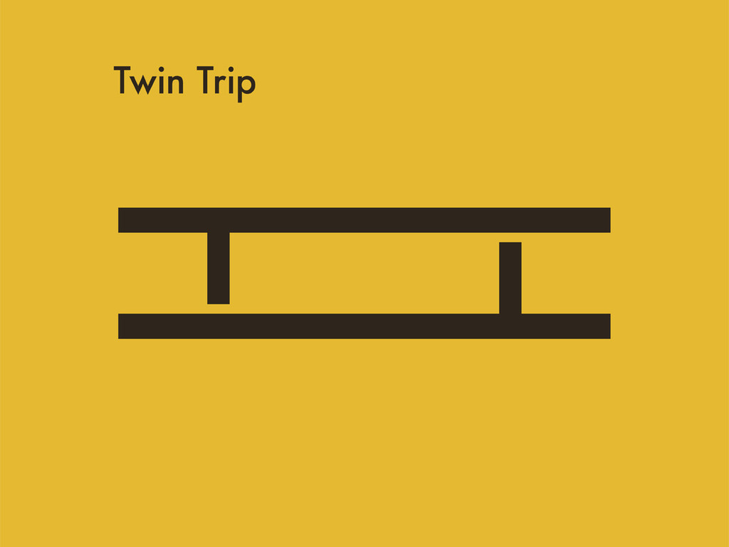 Twin Trip - need help to release their first album's video poster