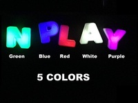 stickLEDs: World's First Wireless Magnetic LED Letters