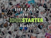 The Faces of Kickstarter Backers: Vol. 1