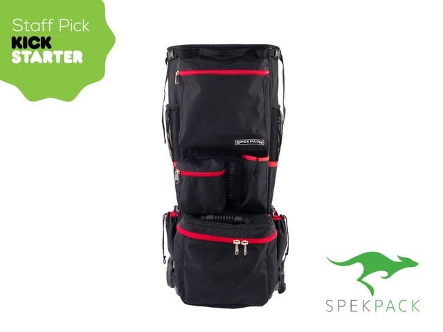 "Kickstarter Chooses Utah Inventor's ""SpekPack"" as their Staff Pick Inventive Carry All Bag Takes the Spectacle out of Spectating!"