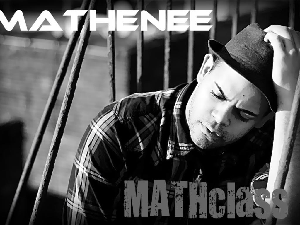"Mathenee's debut album 'MATHclass""'s video poster"