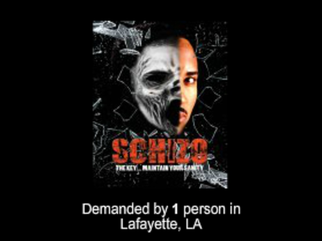 Schizo (Thriller Film)'s video poster