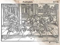 Restoration of 16th Century German Longsword Illustrations