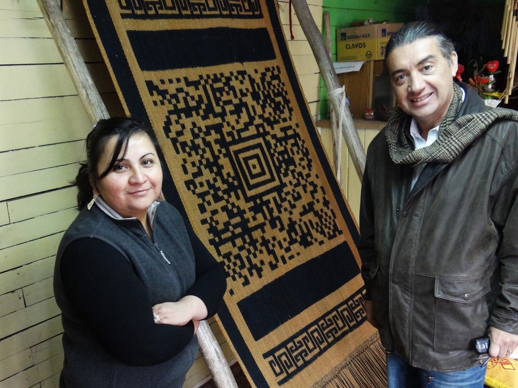 Coded Stories: Art, Bar Codes, & Mapuche Identity's video poster