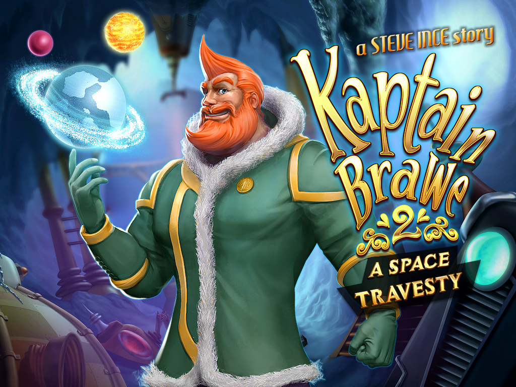 Kaptain Brawe 2: A Space Travesty's video poster