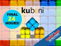Kubeni - a party game that showcases brains and dexterity