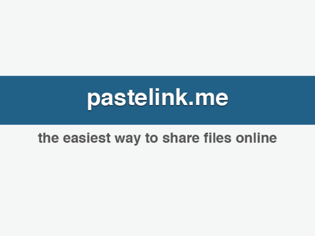 pastelink.me - the easiest way to share files online's video poster
