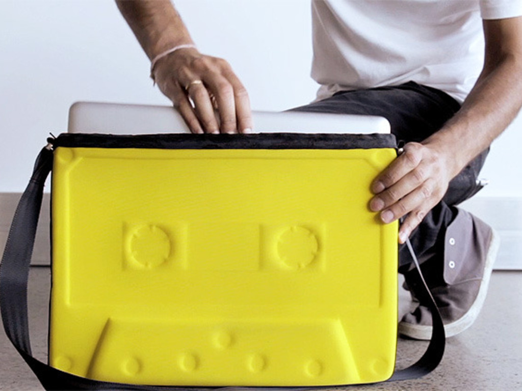 The Cassatchel | Laptop Bag and iPad Sleeve's video poster