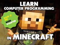 Spark Young Engineers with Minecraft Programming