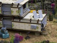 Forward Base: Sci-fi Scenery for Infinity Wargamers