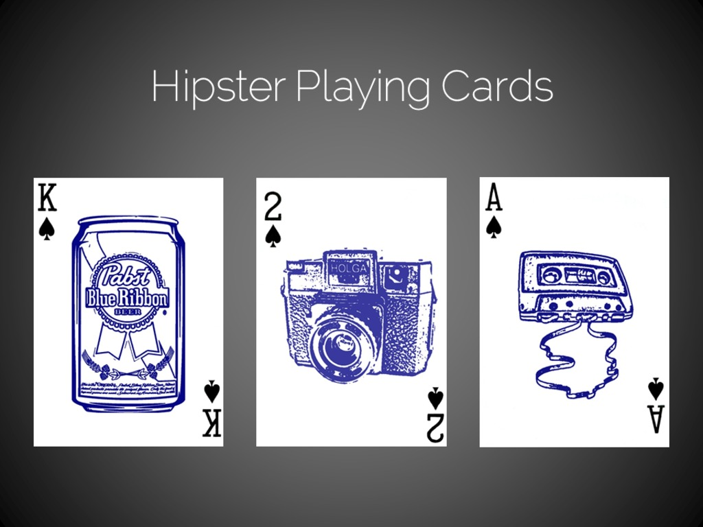 Hipster Playing Cards's video poster