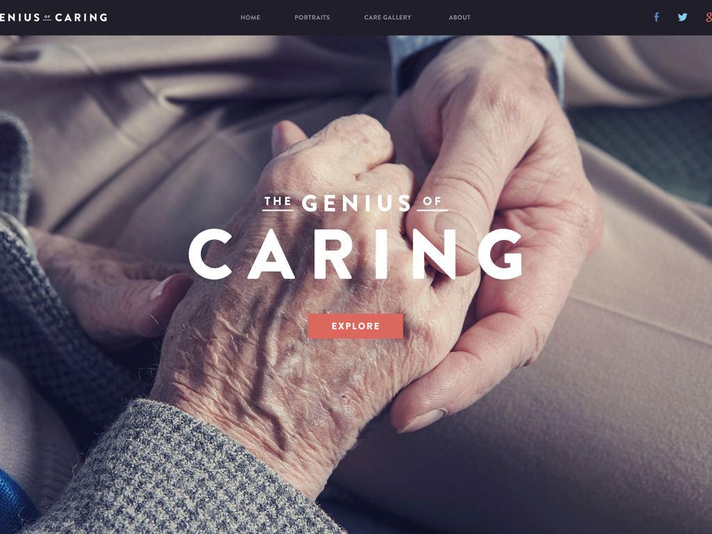 The Genius of Caring: an interactive documentary's video poster