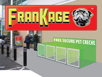 FranKage - Free Secure Pet Creches To Help Prevent Pet Theft