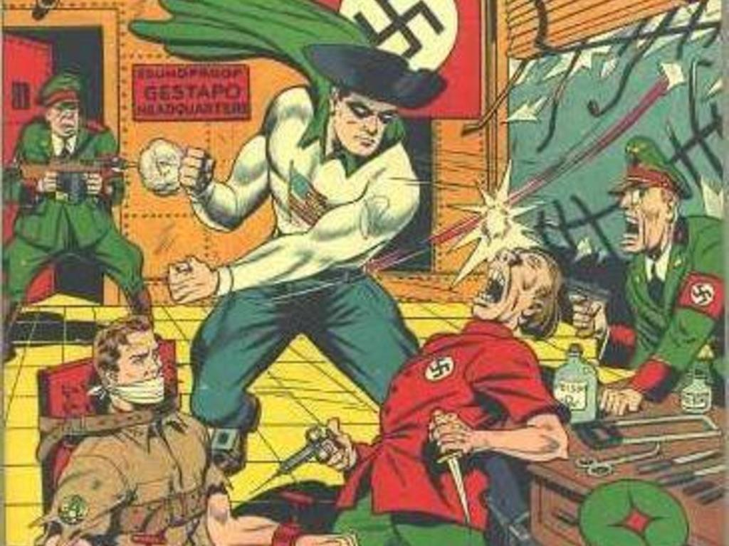 The Encyclopedia of Golden Age Superheroes's video poster