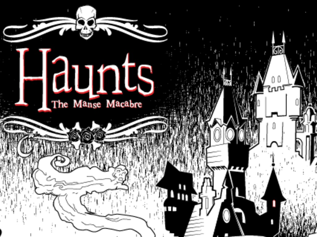Haunts: The Manse Macabre's video poster