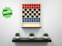 Mate: The Wall Hanging Chess Board