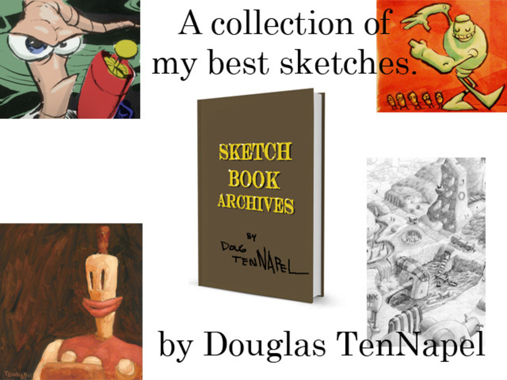 Doug TenNapel Sketchbook Archives's video poster