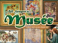 Musée: Alf Seegert's New Bookshelf Game of Classic Art!