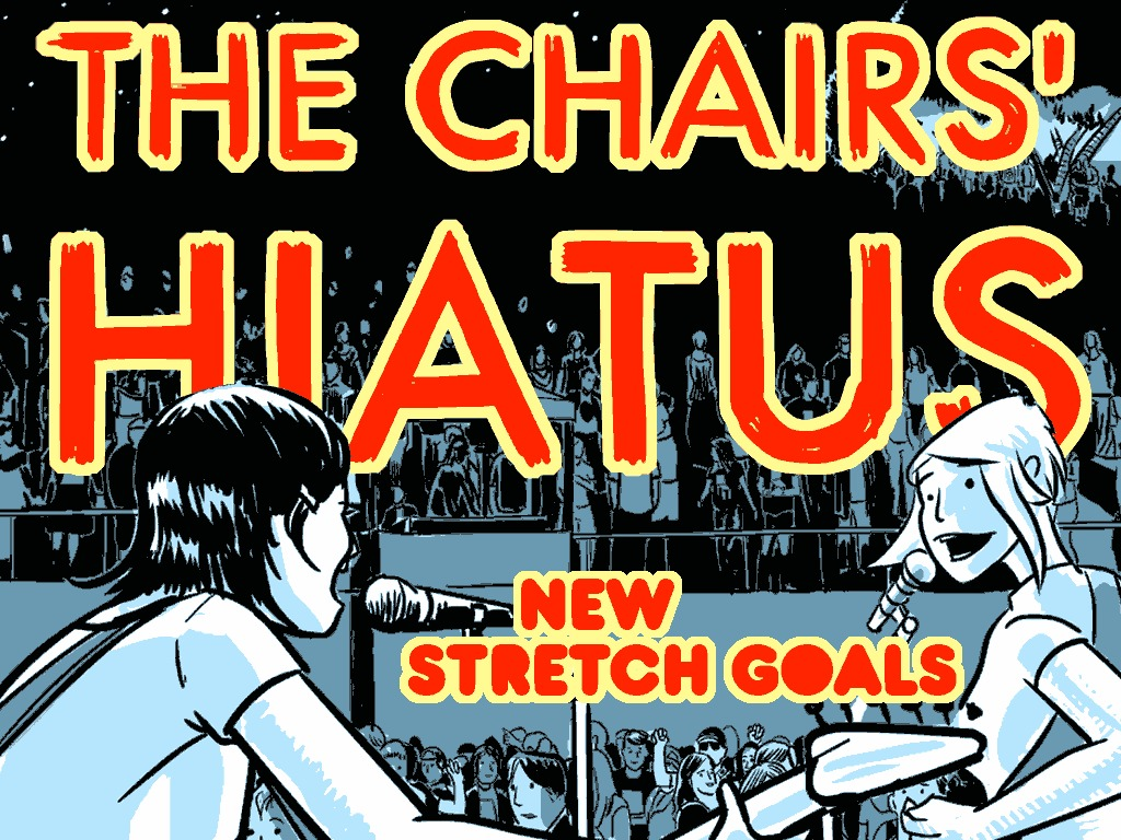 """""""The Chairs' Hiatus"""" Special Hardback Two Color Edition's video poster"""