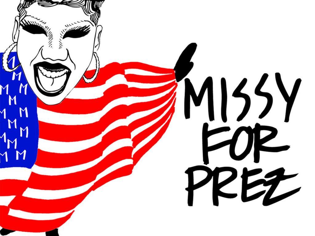 MISSY FOR PREZ's video poster