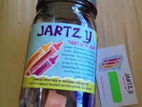 All-inclusive Art in a Jar! Creative fun for kids on the go!