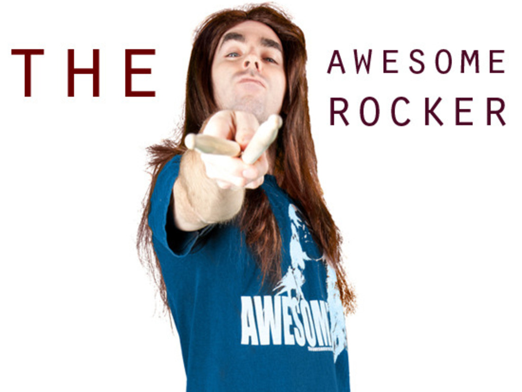 The Awesome Rocker... The Original Movie's video poster