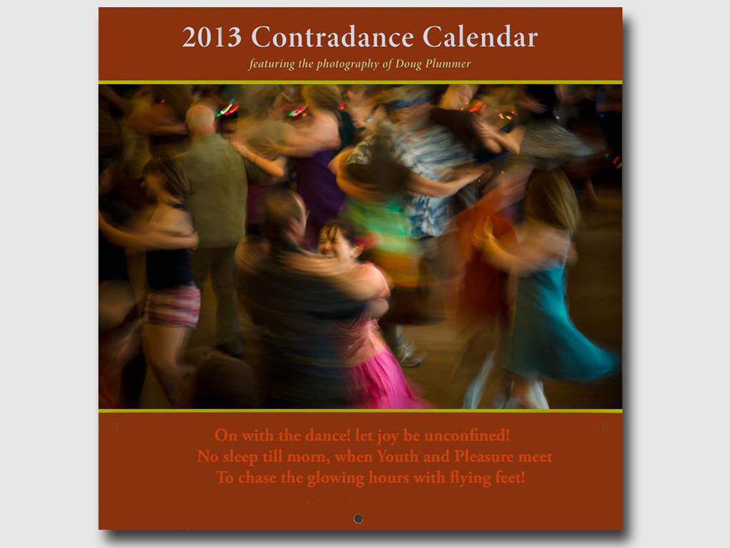 The 2013 Contradance Calendar's video poster