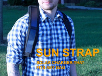 Sun Strap - Solar Charger that fits any Bag or Camera Strap