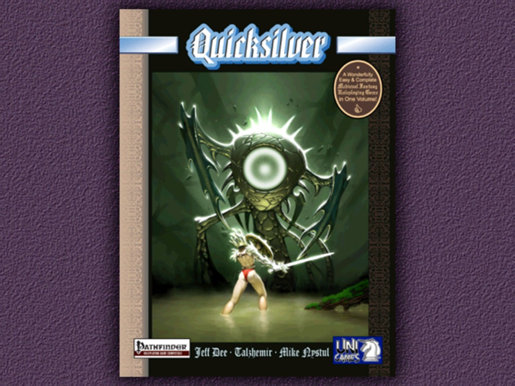 Quicksilver Worldbook for Pathfinder's video poster
