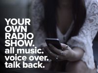 Fradio. Your phone becomes the radio station. You broadcast.