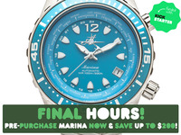 A Revolutionary Women's Dive Watch Designed by Women Divers