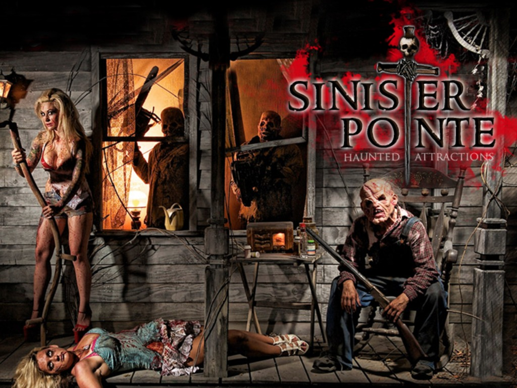 Sinister Pointe Haunted Attraction 2012's video poster